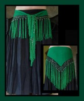 Beaded Fringe Wrap